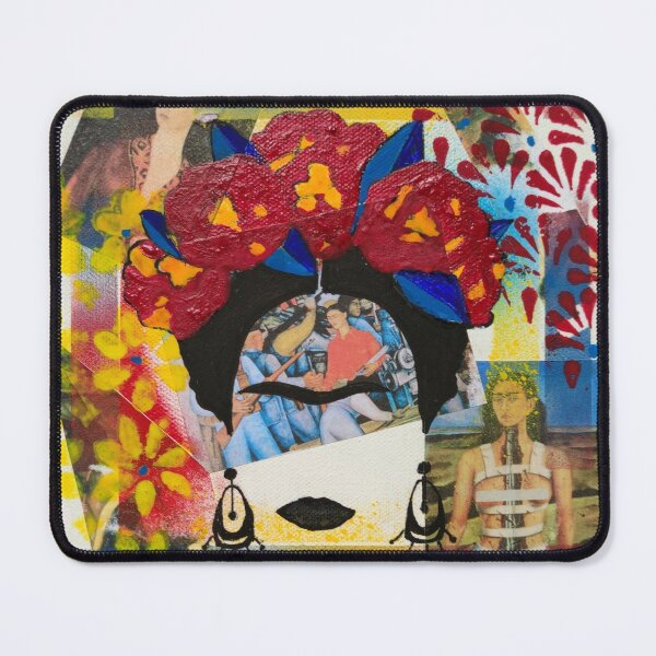 In Frida's world Mouse Pad