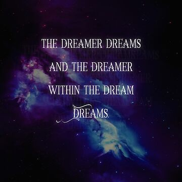 Spiritual Tees: Dreamer Quote by pubicbear