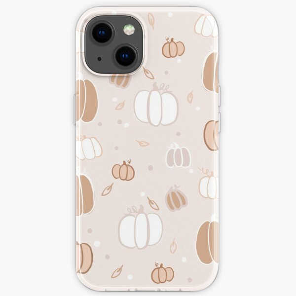 Pumpkin Background iPhone Soft Case