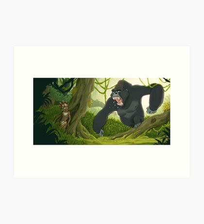 Mad Jungle Art Print