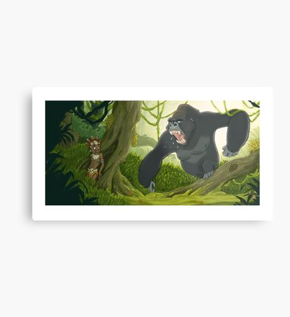 Mad Jungle Metal Print
