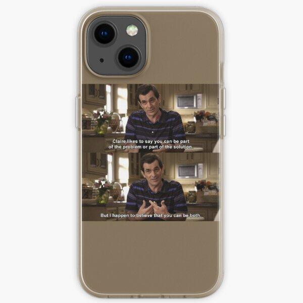 Phil Dunphy-Zitat aus Modern Family iPhone Flexible Hülle