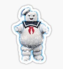 Vintage Stay Puft Marshmallow Man Sticker