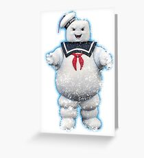Vintage Stay Puft Marshmallow Man Greeting Card