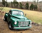 """Studebaker Truck: Put Out to Pasture, 'til the Next Ride""... prints and products by © Bob Hall"