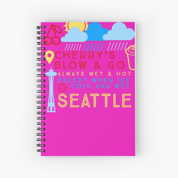 Cherry's Shirt Spiral Notebook