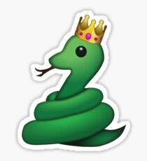 Snake Emoji Stickers Redbubble