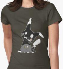 Pokemon Sun / Moon - Happy Mimikyu :) Womens Fitted T-Shirt