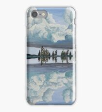 Clouds Reflection iPhone Case/Skin