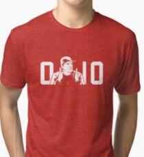 ORIGINAL Ohio State Michigan Coach Rivalry Tri-blend T-Shirt