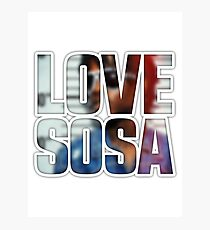 Love Sosa v2 Photographic Print