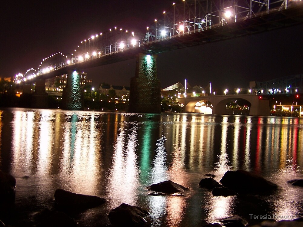 Chattanooga Nights by Teresia Newton
