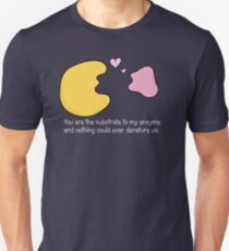 Enzyme and Substrate Love Story Unisex T-Shirt