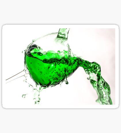 Green Splash  Sticker