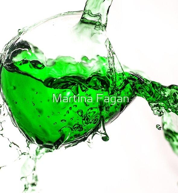 Green Splash  by Martina Fagan