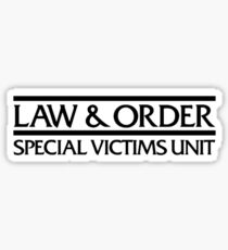 SVU Logo Sticker