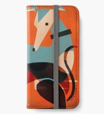 GREYHOUND PAIR iPhone Wallet/Case/Skin