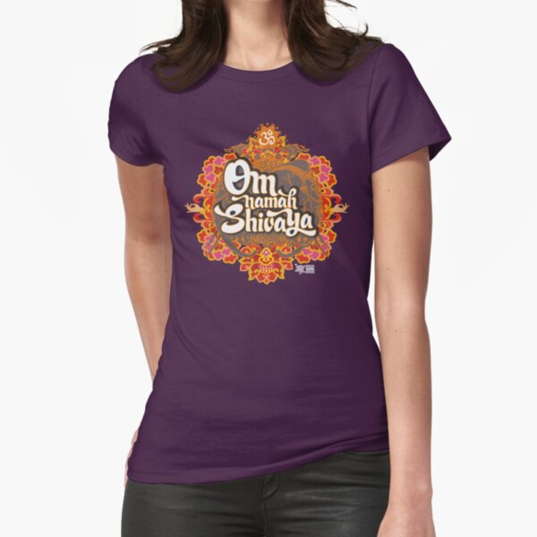Om namah Shivaya  Fitted T-Shirt