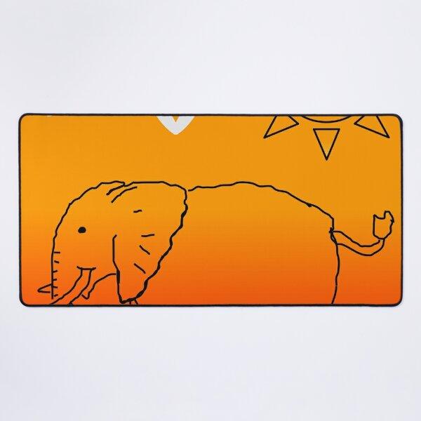 elephant Desk Mat