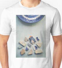 Picking up the broken pieces. Unisex T-Shirt