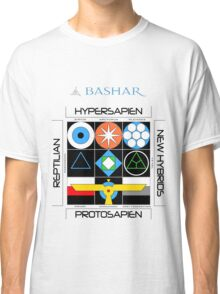 Bashar: Interstellar Enneagram (White) Classic T-Shirt