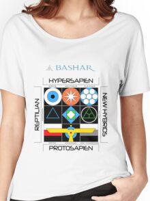 Bashar: Interstellar Enneagram (White) Women's Relaxed Fit T-Shirt