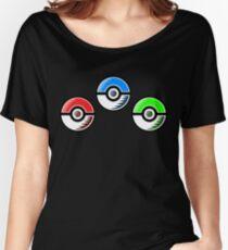 Pokemon - Starter Pokeballs Women's Relaxed Fit T-Shirt