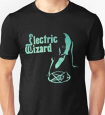 Electric Wizard - Pentagram Slim Fit T-Shirt