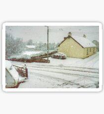Snow Storm Sticker