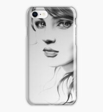 Pencil Portrait iPhone Case/Skin