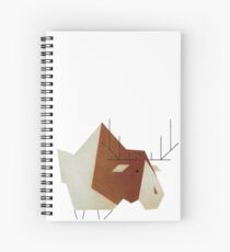 moose #01 Spiral Notebook