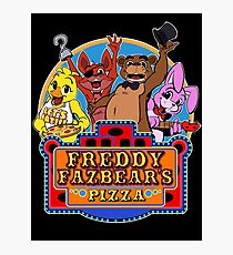 Fun times at Freddy's Photographic Print