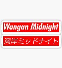 Wangan Sticker