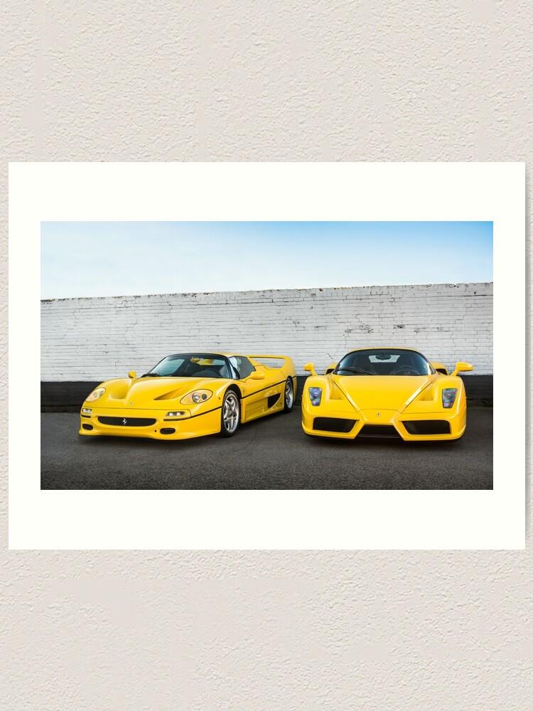 Ferrari Mug One size Yellow