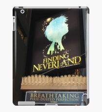 NYC Finding Neverland Broadway iPad Case/Skin