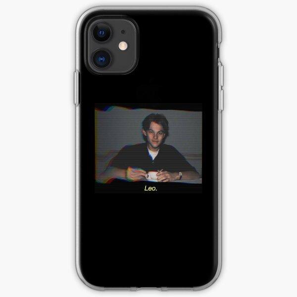 Leonardo Dicaprio 90's TV scanline tumblr iPhone Soft Case
