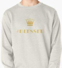 #Blessed Gold Pullover