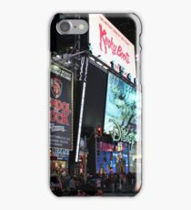 NYC Times Square Artwork iPhone Case/Skin