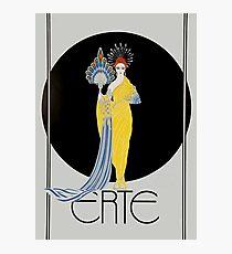 "Art Deco Design by Erte ""Aphrodite"" Photographic Print"