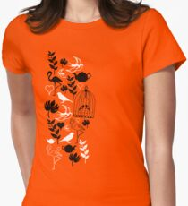 songbird tee  Women's Fitted T-Shirt