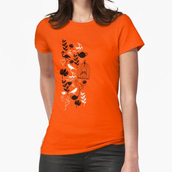 songbird tee  Fitted T-Shirt