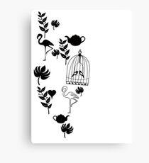 songbird tee  Canvas Print