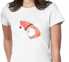 Happy Little Santa (#09) Womens Fitted T-Shirt