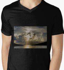 Chalki Rays Mens V-Neck T-Shirt
