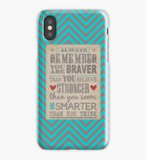 Always Remember... iPhone Case