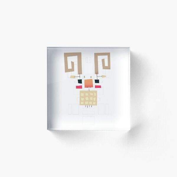 #02 - The Ram Acrylic Block