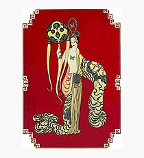 "Art Deco Costume by Erte ""Oriental Princess"" Photographic Print"