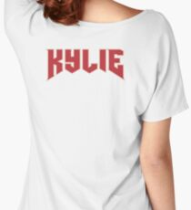 KYLIE Jenner Logo Women's Relaxed Fit T-Shirt