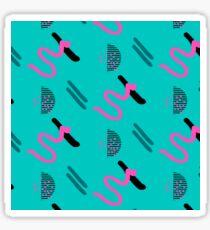 Abstract brush stroke Sticker