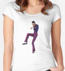 sneak around! Women's Fitted Scoop T-Shirt